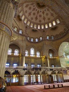 תמונה של The Blue Mosque ליד Eminönü. turkey islam istanbul mosque bluemosque