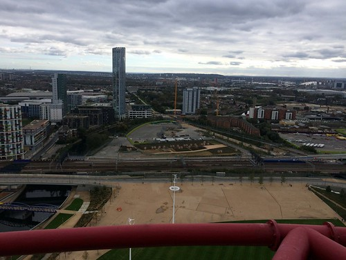View from the ArcelorMittal Orbit