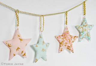 Fabric stars 7