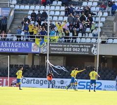 Segundo gol del Cádiz. Celebración (2)