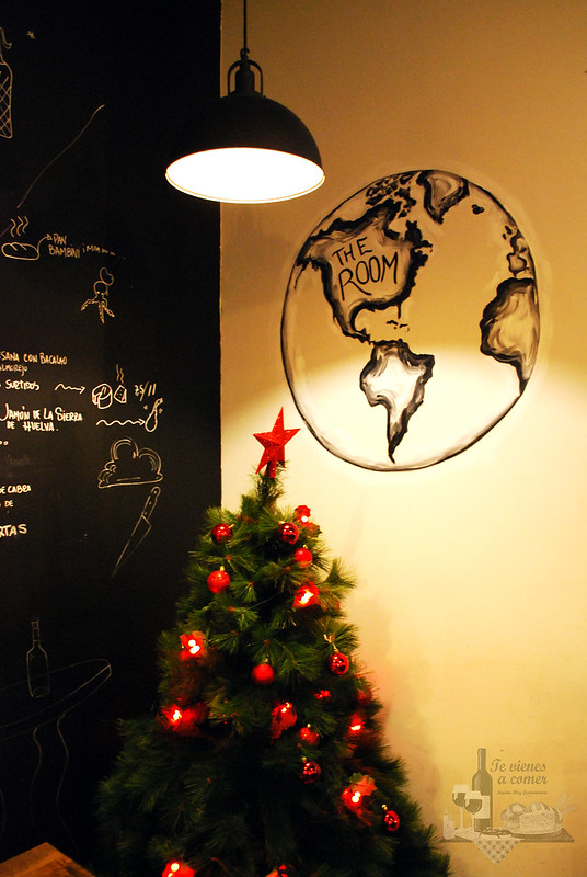 The room art cuisine Arbol Navidad