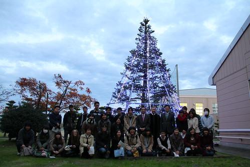 20141128クリスマスツリー点灯式