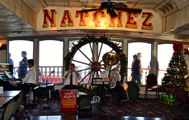 teamboat natchez - jazz band