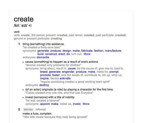 create-define