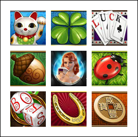 free Streak of Luck slot game symbols