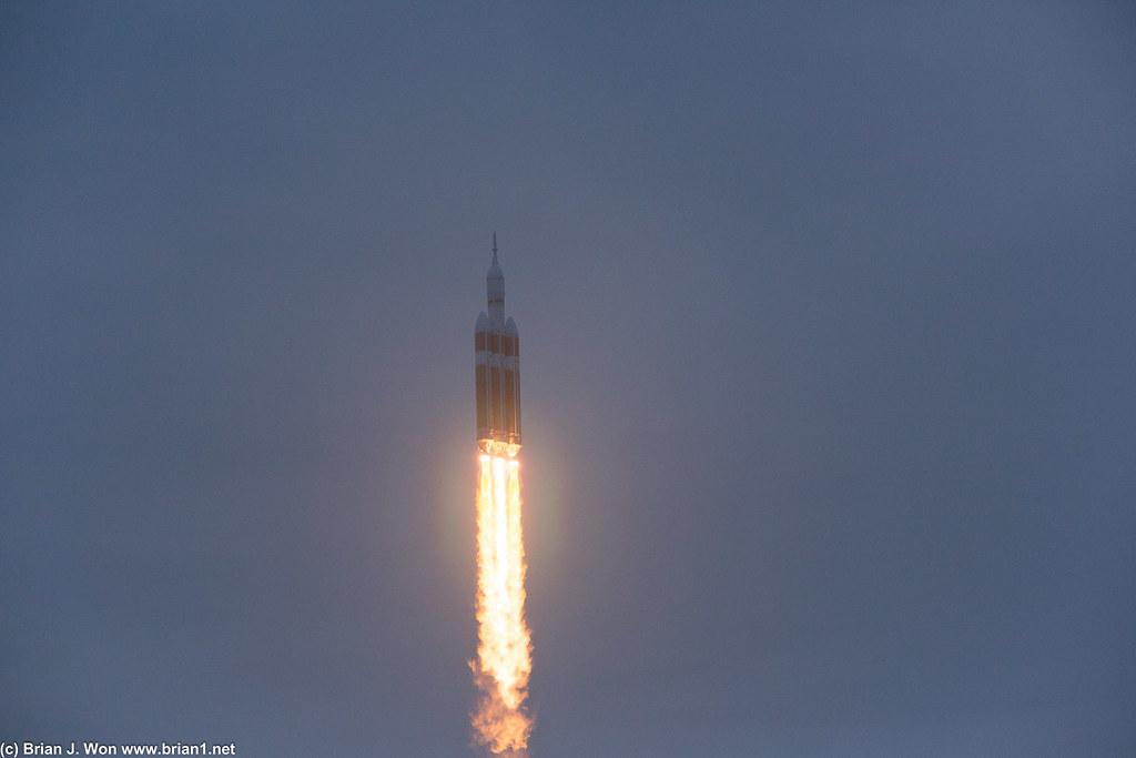 Orion first flight