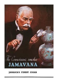 1948 Jamavana Cigars ad