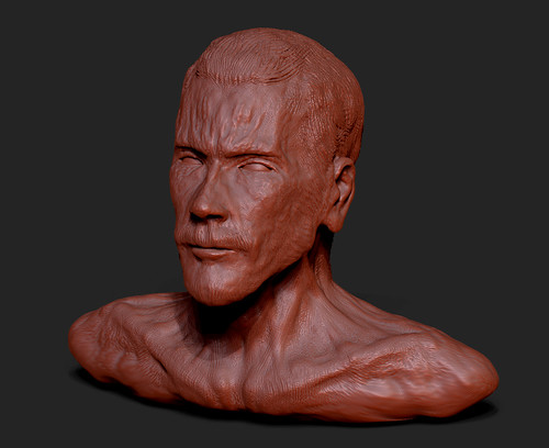 Zbrush - Figure 2 - I assumed a body electric