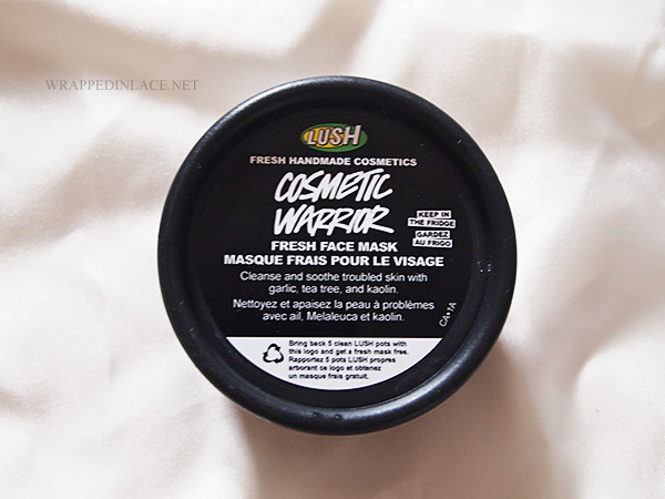Lush Cosmetic Warrior Fresh Face Mask Review