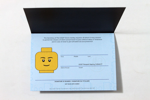 The LEGO Store Passport