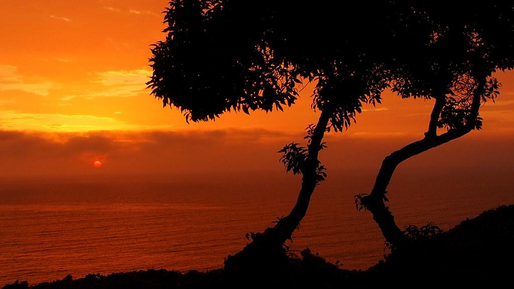 Sunset at Miraflores, Lima, Peru