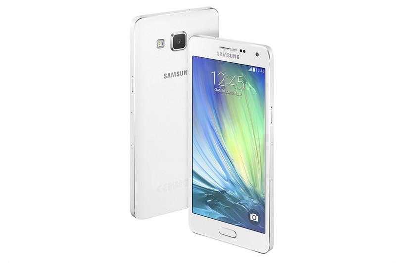 Samsung GALAXY A5 - Pearl White