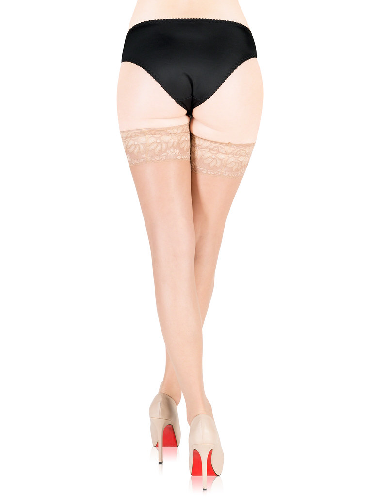 Marilyn halterlose Strümpfe NUDO NF 15 den (Damen) | Color: Beige