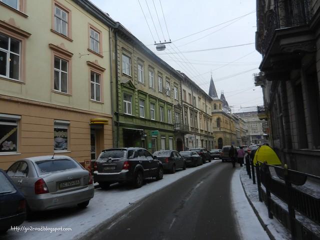 Львов, улицы города
