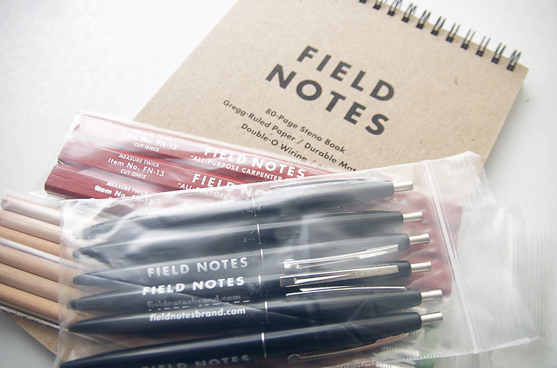shhhhhhh - field notes stocking stuffers.