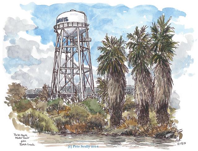 UC Davis watertower