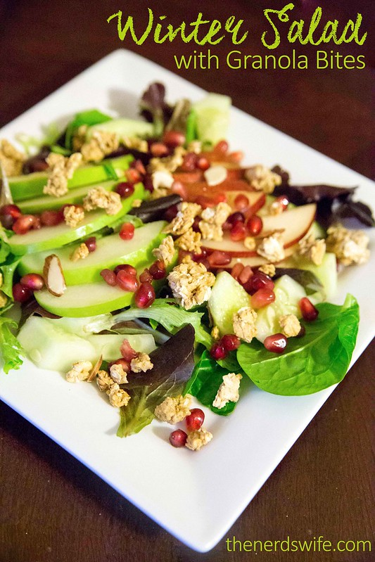 Winter Salad with Granola
