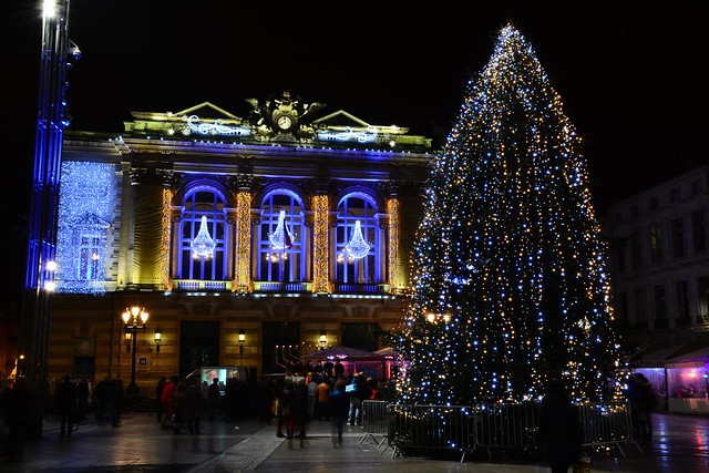 Montpellier, illuminations 2014