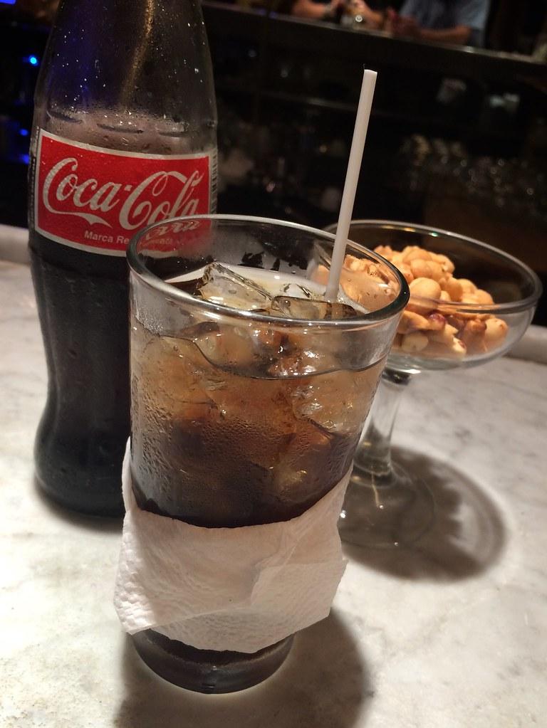 Centenario Rum and Coke