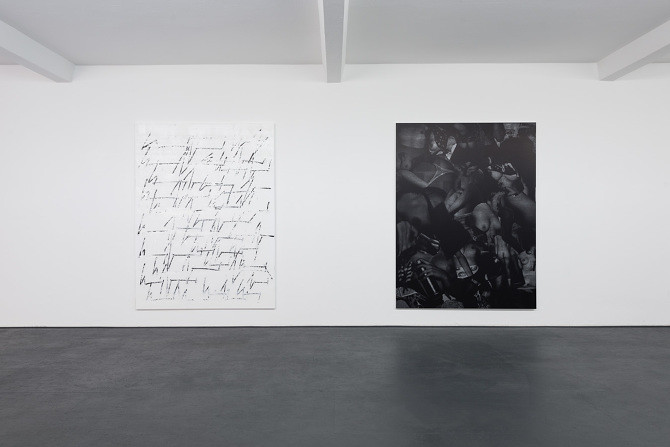 Chris Succo Installation View Duve Berlin 2014