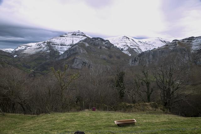 Camino a Lunada, Cantabria