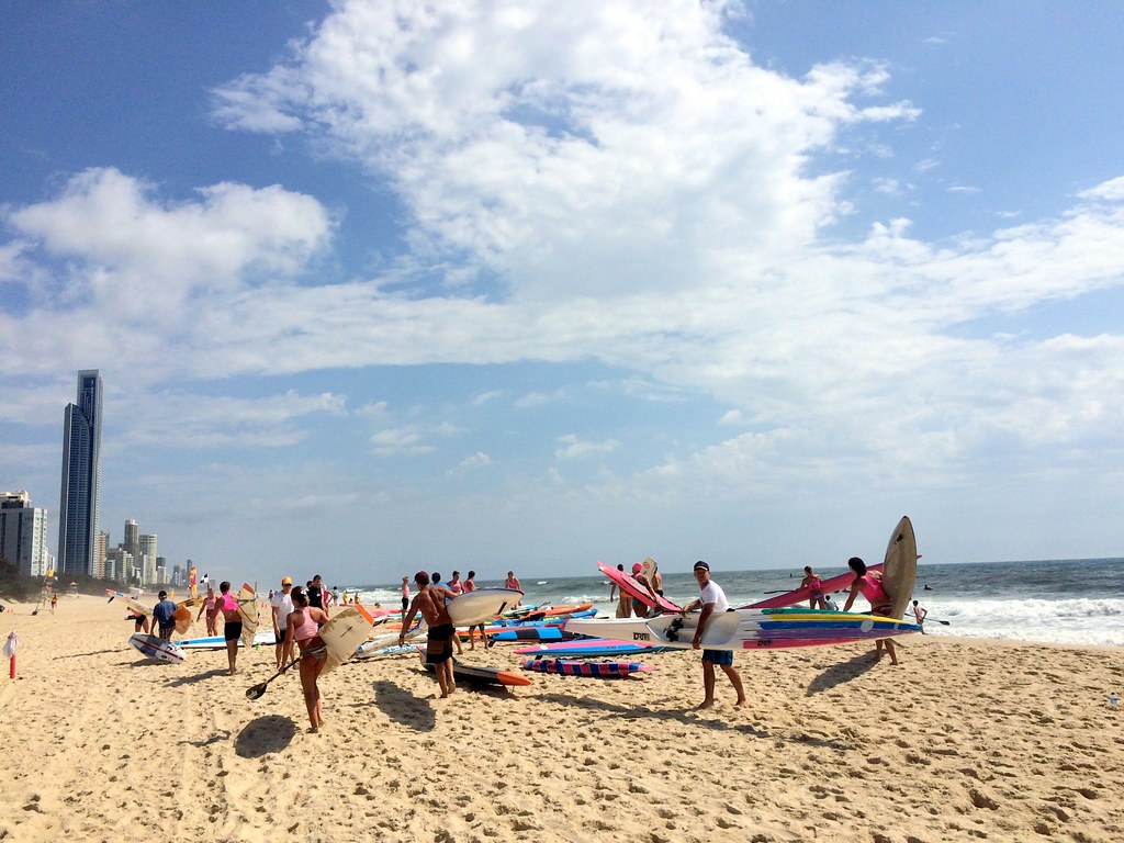 the beach - surroundings of sofitel gold coast