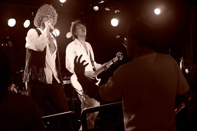 TOWNZEN live at Outbreak, Tokyo, 18 Jan 2015. 334