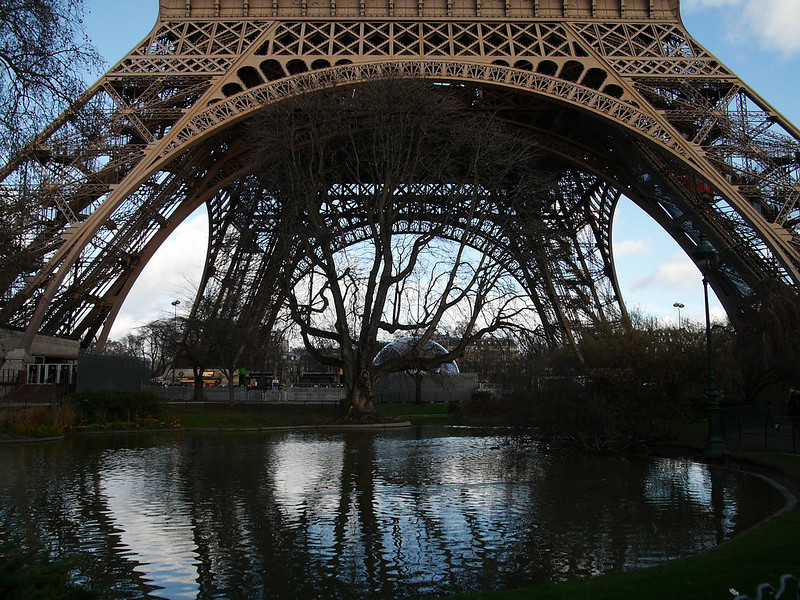 Paris Christmas Day
