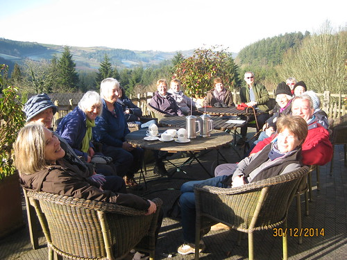 Lostwithiel U3A Walking Group at Duchy Nursery