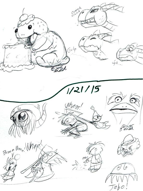 1.20/21.15 - Doodles