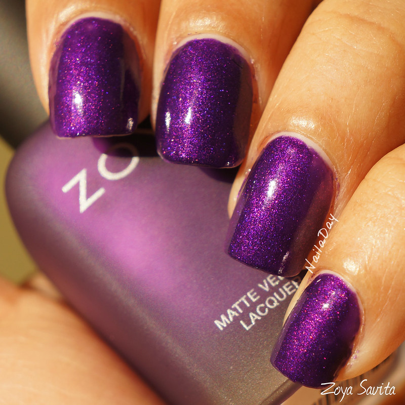 NailaDay - Swatch Zoya Savita