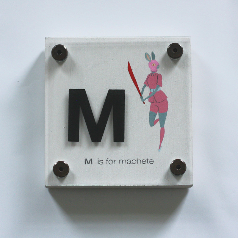 M IS FOR MACHETE