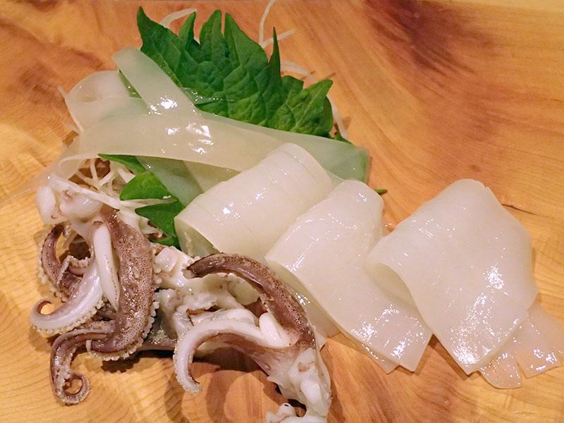 イカの刺身