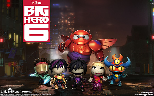 LittleBigPlanet 3 Sackboy meets the Big Hero 6