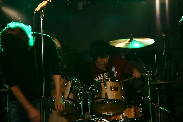 中野バンド live at Outbreak, Tokyo, 17 Jan 2015. 048