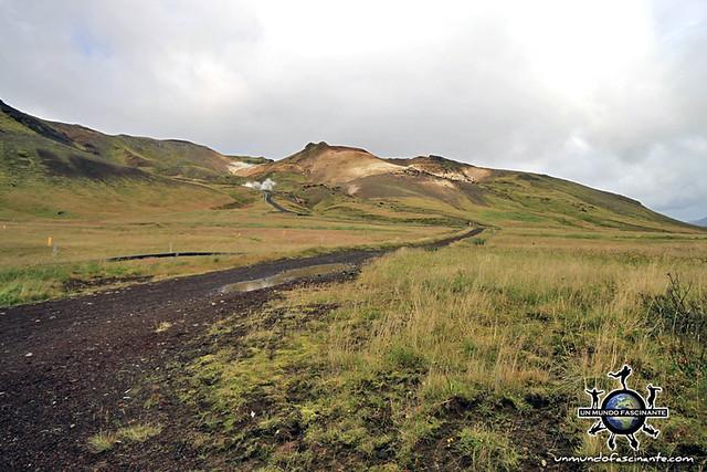 ISLANDIA - Paisajes de camino a Krýsuvík