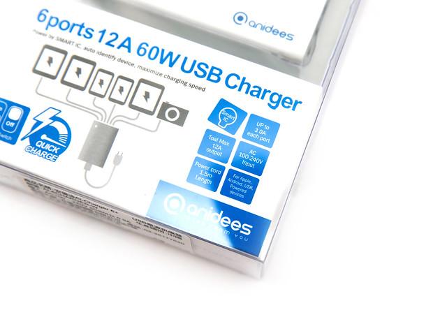最好還能更好 anidees AI-Charger 6+ 智能充電器支援 QC2.0 @3C 達人廖阿輝