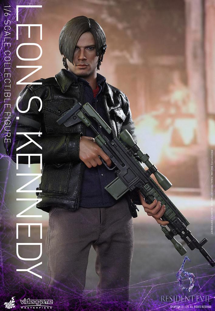 Hot Toys – VGM22 – 惡靈古堡6 【里昂】Leon S. Kennedy 1/6 比例人偶作品