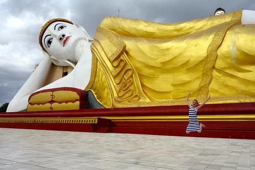 Bodhi Tataung in Monywa
