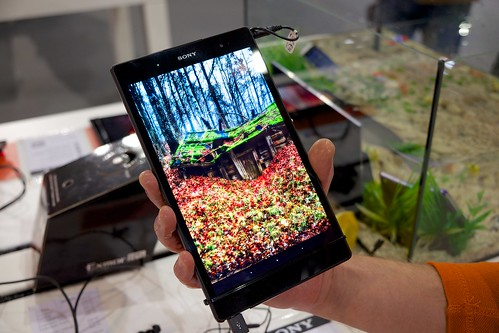 Sony Xperia Z3 Tablet Compact - Riga photo show 2014
