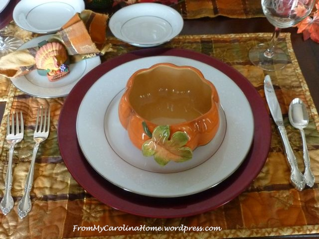 Thanksgiving Tablescape 2