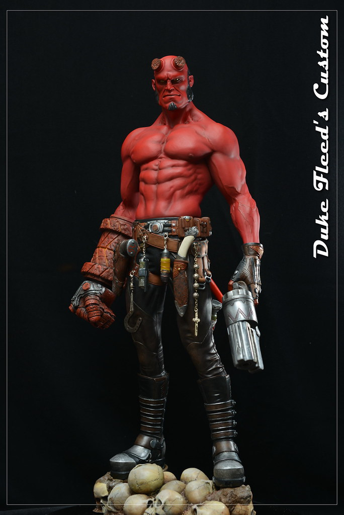 Hellboy 1/4 by Narin  15193720903_c570a96e45_b