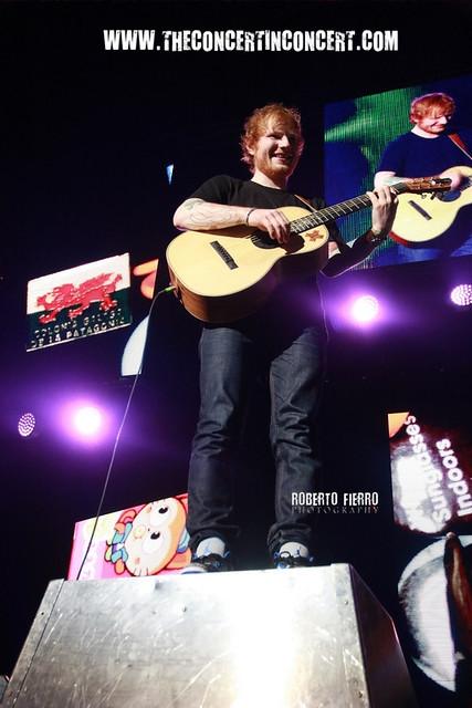 CRONICA) Ed Sheeran – BarclayCard Center – Madrid – 25/11/14