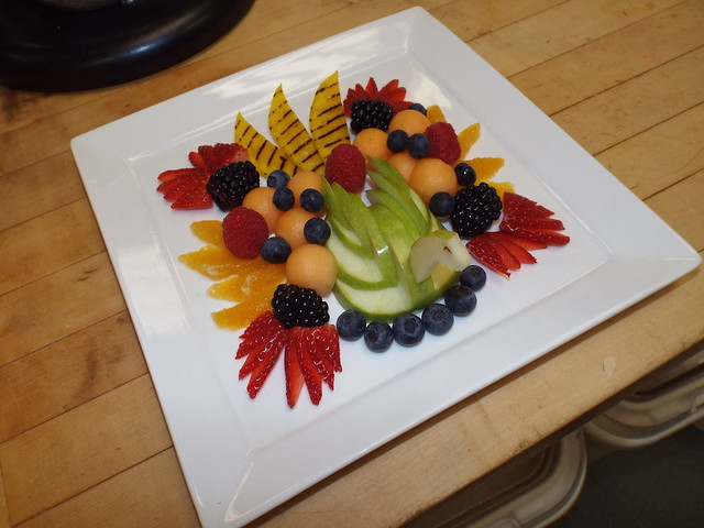 Fruit platter Dec 5 2014