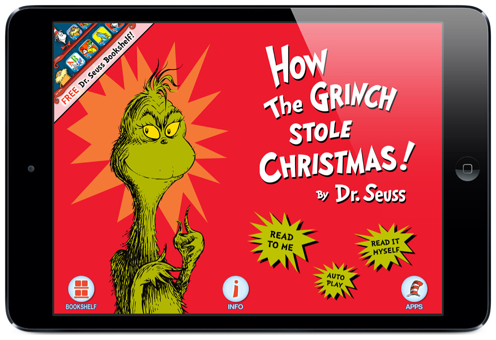 how the grinch stole christmas app - How The Grinch Stole Christmas Book