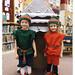Elves visit the Gingerbread House
