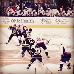 Start of the third!! I can\'t even post before its 3-2#cbj