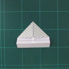 วิธีทำหรีดห้อยหน้าประตูสำหรับวันคริสต์มาส (Christmas wreath origami and papercraft) 009