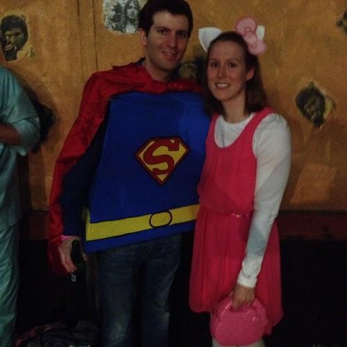 We celebrated Halloween in Roppongi.