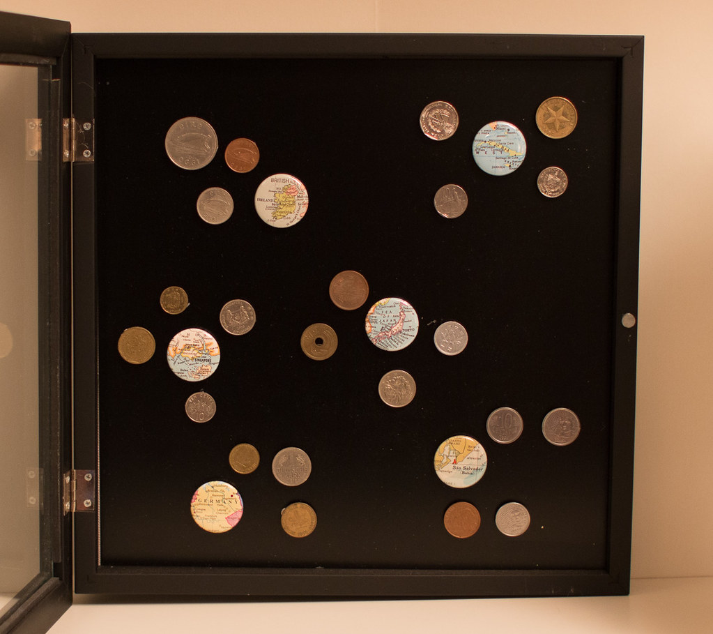Foreign Coin Display